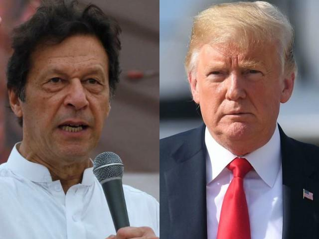 PM Imran Khan says Trump has asked him to help in the Afghan Taliban peace process